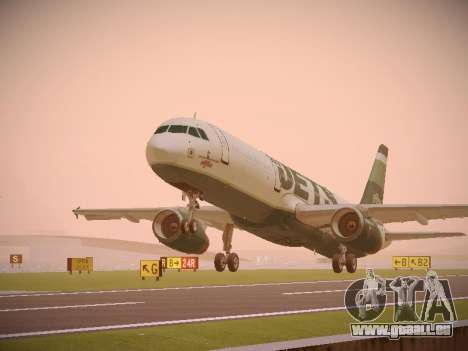 Airbus A321-232 jetBlue NYJets pour GTA San Andreas