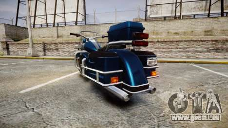 Western Sovereign pour GTA 4 Vue arrière de la gauche