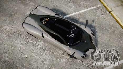 Pagani Huayra 2013 Carbon für GTA 4 rechte Ansicht