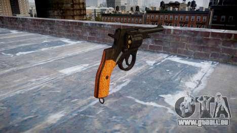 Der Revolver Nagant M1895 für GTA 4 Sekunden Bildschirm