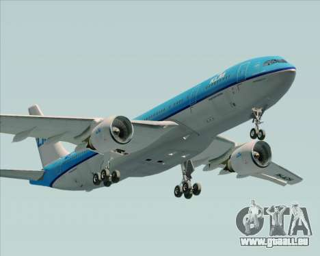 Airbus A330-200 KLM - Royal Dutch Airlines für GTA San Andreas Innen