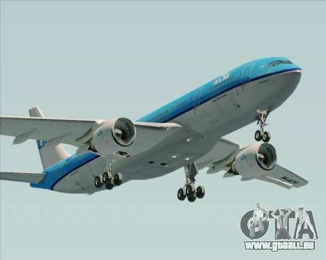 Airbus A330-200 KLM - Royal Dutch Airlines pour GTA San Andreas salon