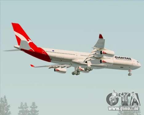 Airbus A340-300 Qantas pour GTA San Andreas roue