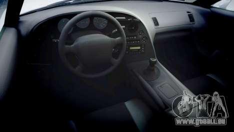 Toyota Supra pour GTA 4 Vue arrière