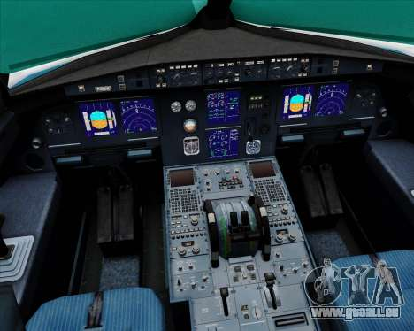 Airbus A321-200 Vietnam Airlines für GTA San Andreas Innen