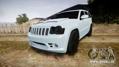 Jeep Grand Cherokee SRT8 stock pour GTA 4