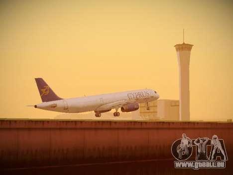Airbus A321-232 Cyprus Airways pour GTA San Andreas salon
