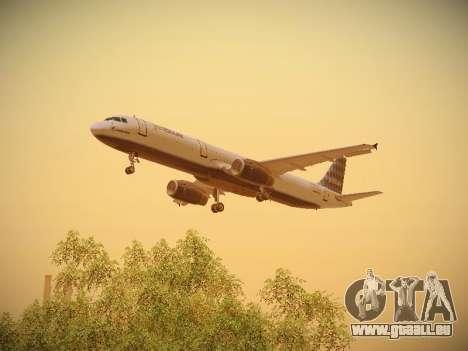 Airbus A321-232 jetBlue Airways pour GTA San Andreas moteur