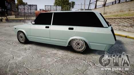 VAZ-2104 hooligan azerbaïdjanais style pour GTA 4 est une gauche