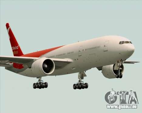 Boeing 777-21BER Nordwind Airlines pour GTA San Andreas vue de dessus