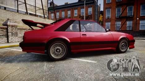 Vapid Uranus Custom für GTA 4 linke Ansicht