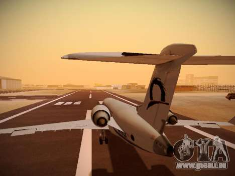 Bombardier CRJ-700 Horizon Air für GTA San Andreas Innen