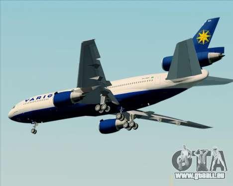 McDonnell Douglas DC-10-30 VARIG für GTA San Andreas Seitenansicht