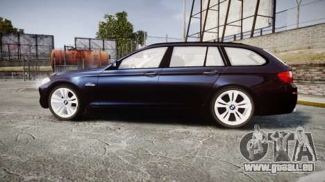 BMW 530d F11 Unmarked Police [ELS] pour GTA 4 est une gauche