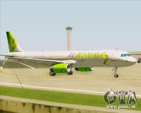 Airbus A321-200 Air Australia pour GTA San Andreas vue arrière
