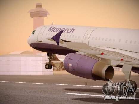 Airbus A321-232 Monarch Airlines pour GTA San Andreas