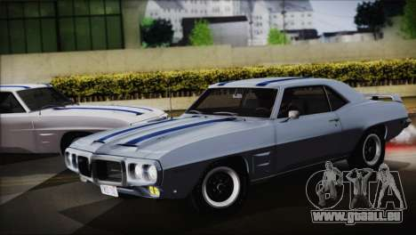 Pontiac Firebird Trans Am Coupe (2337) 1969 pour GTA San Andreas