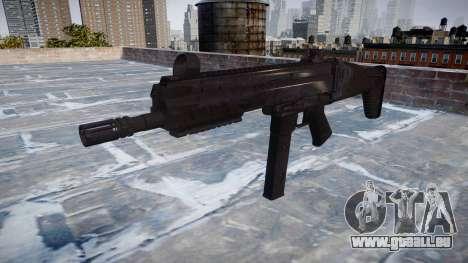 Pistolet SMT40 avec crosse icon2 pour GTA 4