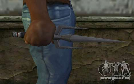 Knife from Deadpool für GTA San Andreas dritten Screenshot