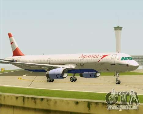 Airbus A321-200 Austrian Airlines pour GTA San Andreas vue de côté
