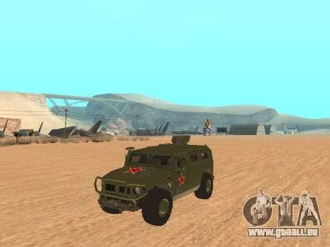 GAZ 2975 für GTA San Andreas