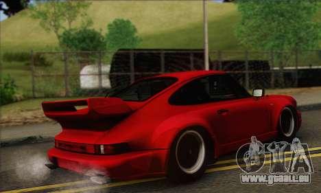 Porsche 930 Turbo Look 1985 Tunable pour GTA San Andreas vue arrière
