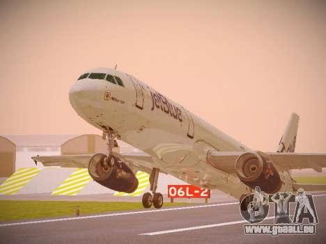 Airbus A321-232 jetBlue I love Blue York pour GTA San Andreas laissé vue