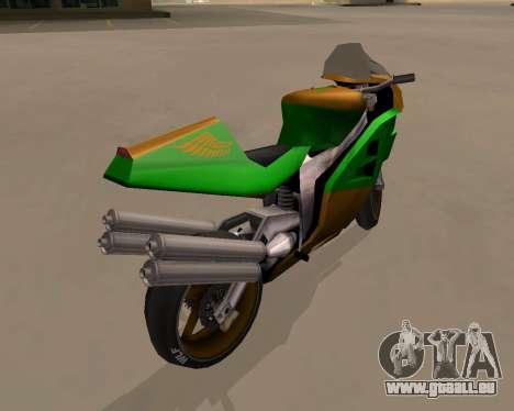 NRG-500 Winged Edition V.1 pour GTA San Andreas vue de droite