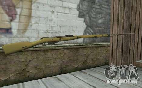 Mosin-v15 pour GTA San Andreas deuxième écran