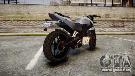 Bajaj Pulsar 200NS 2012 für GTA 4 hinten links Ansicht