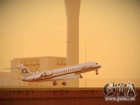 Bombardier CRJ-700 Horizon Air für GTA San Andreas Rückansicht