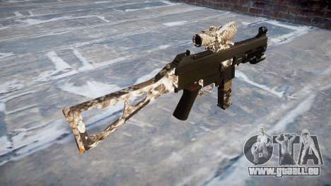 Pistolet UMP45 Viper pour GTA 4 secondes d'écran