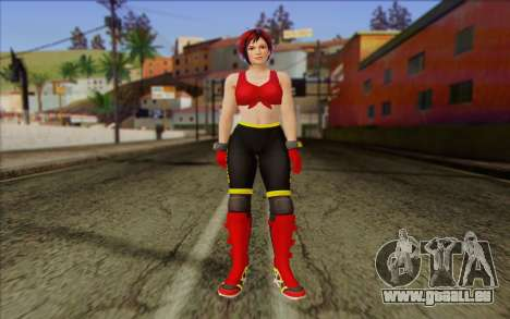 Mila 2Wave from Dead or Alive v7 pour GTA San Andreas