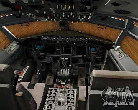 Boeing 737-800 EG&G - Janet für GTA San Andreas Innen