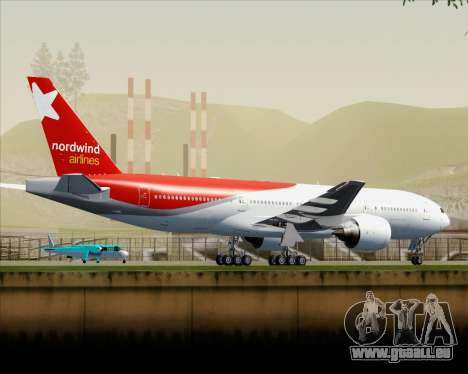 Boeing 777-21BER Nordwind Airlines pour GTA San Andreas salon