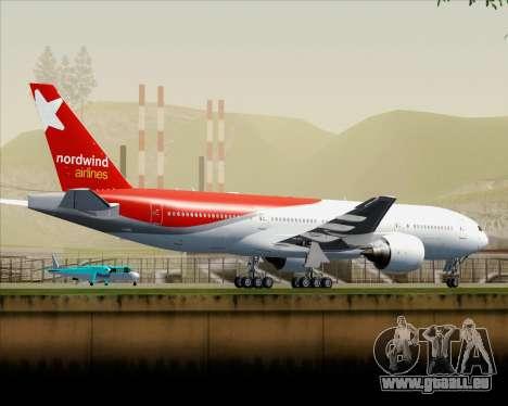 Boeing 777-21BER Nordwind Airlines für GTA San Andreas Innen
