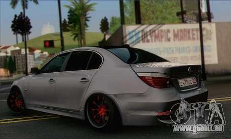 BMW M5 Stanced für GTA San Andreas linke Ansicht