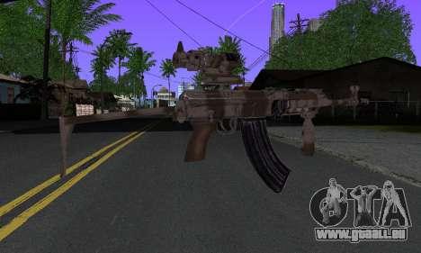 Sa-58V ACOG pour GTA San Andreas deuxième écran