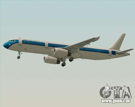 Airbus A321-200 American Pacific Airways für GTA San Andreas Innenansicht