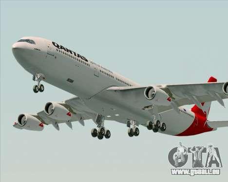 Airbus A340-300 Qantas pour GTA San Andreas moteur
