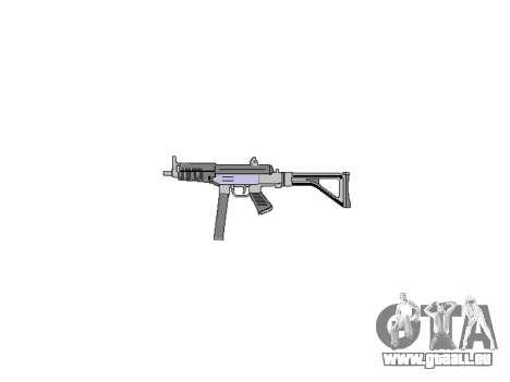 Pistolet Taurus MT-40 buttstock2 icon4 pour GTA 4 troisième écran
