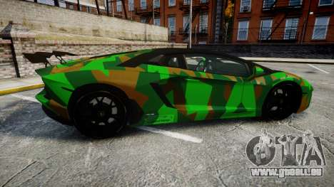 Lamborghini Aventador LP760-4 Camo Edition für GTA 4 linke Ansicht