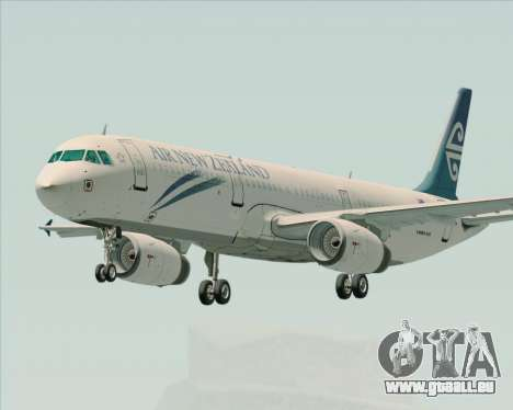 Airbus A321-200 Air New Zealand pour GTA San Andreas