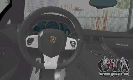 Lamborghini Avendator LP700-4 2012 für GTA San Andreas zurück linke Ansicht