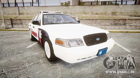 Ford Crown Victoria LC Sheriff [ELS] pour GTA 4
