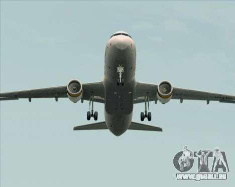 Airbus A320-200 Tigerair Australia für GTA San Andreas obere Ansicht