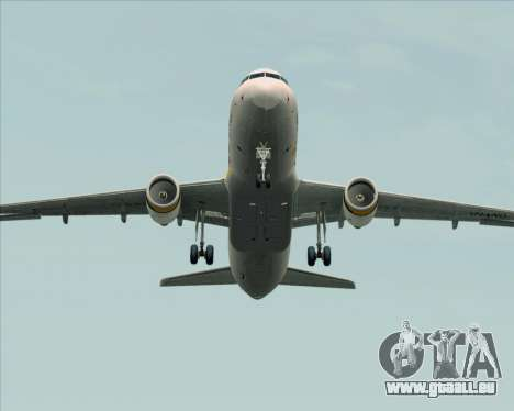 Airbus A320-200 Tigerair Australia pour GTA San Andreas vue de dessus