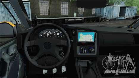 Opel Astra G Caravan für GTA San Andreas zurück linke Ansicht