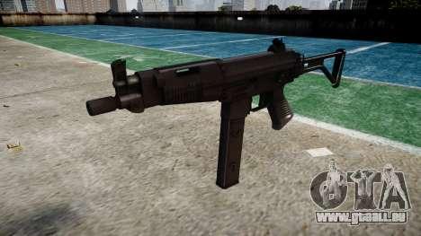 Pistolet Taurus MT-40 buttstock2 icon4 pour GTA 4
