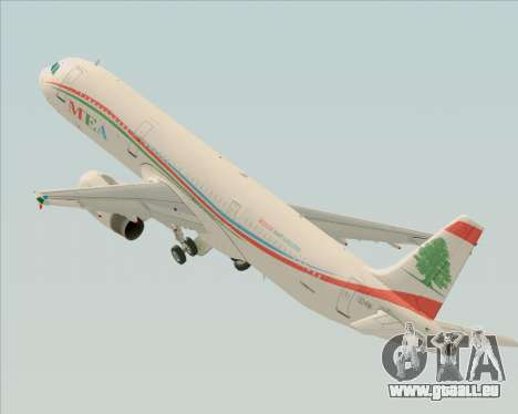 Airbus A321-200 Middle East Airlines (MEA) pour GTA San Andreas